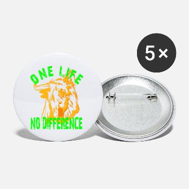 One life no difference - Small Buttons