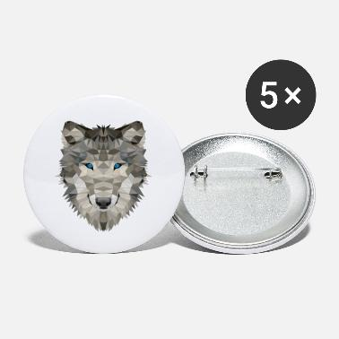 Pack-animals Wolf wild animals wolves pack - Small Buttons