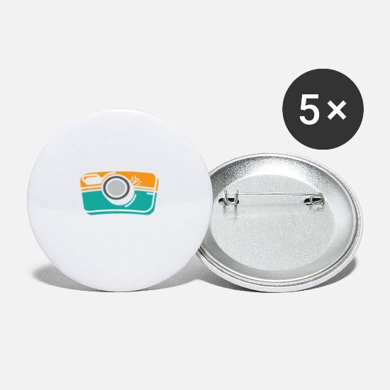 Gift Idea Buttons - I May Snap At Any Moment Funny Photography - Small Buttons white
