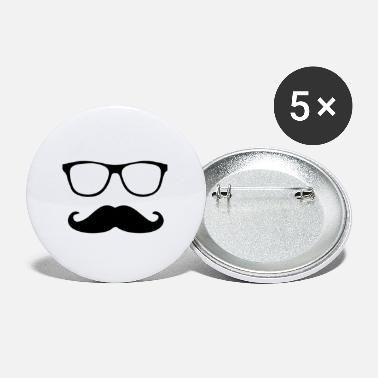 Schnäucher with glasses - Small Buttons