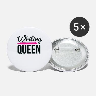 Writing Writing Queen - Små knappar