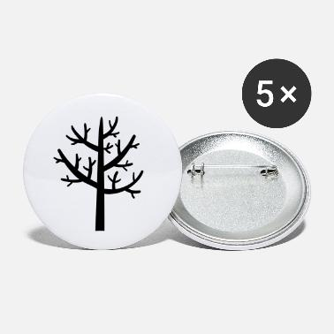 tree winter - Small Buttons