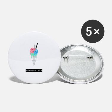 Summervibes ice cream - Small Buttons
