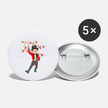 Circus Circus trainer design for circus fans - Small Buttons