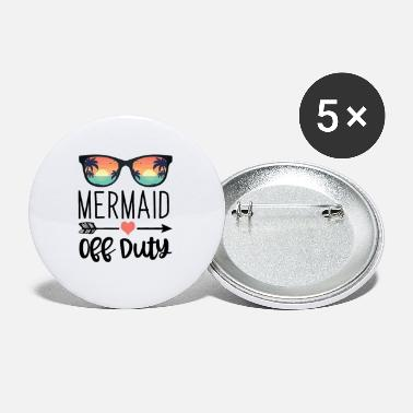 Marina Regalo de sirena Sunglass-Mermaid Off Duty - Chapas pequeñas
