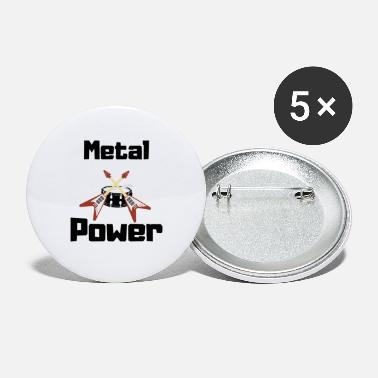 Metal power - Small Buttons