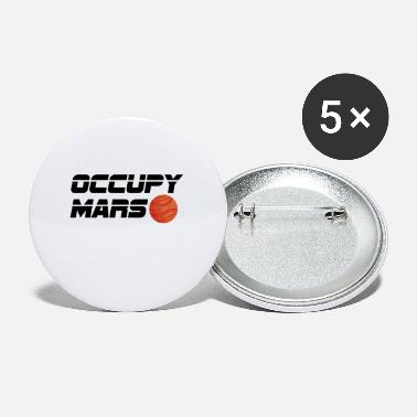 Occupy Occupy Mars Space Travel Astronomy Gift - Buttons klein