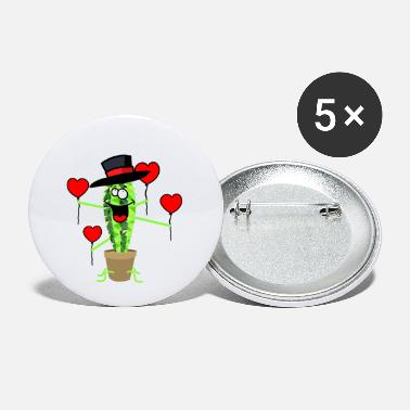 Stik Cactus Gigolo Prickly Thorny Womanizer Man - Små buttons