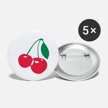 Cherry Cherries Cherry - Small Buttons
