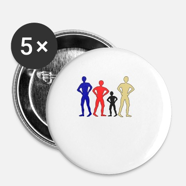 Personnes personnes - Badge petit 25 mm