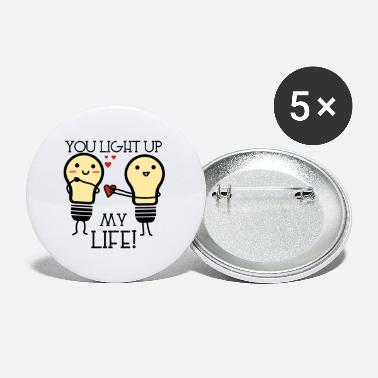 Life You light up my life - Buttons klein