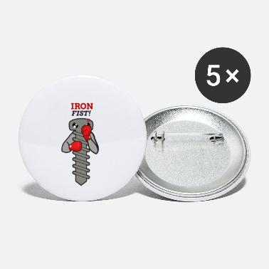 Iron fist! - Small Buttons