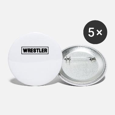 Wrestler wrestler - Small Buttons