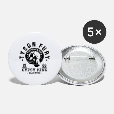 Gypsy King Tyson Fury Gypsy King Vintage Distressed - Small Buttons