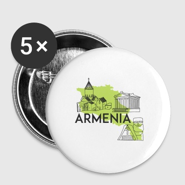 Country Armenia - Buttons small 25 mm