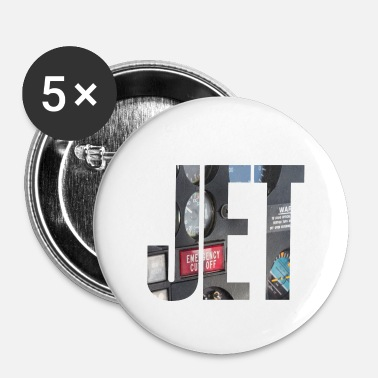 Jet JET - Buttons klein 25 mm (5-pack)