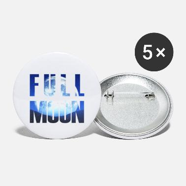 Full Moon full moon - Small Buttons