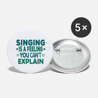 Choir Choir Singing Musician Sayings Funny Gift - Small Buttons