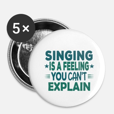 Chorale Chorale Chant Musicien Sayings Funny Gift - Petits badges