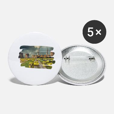 Nuclear Power Anti nuclear power - Small Buttons