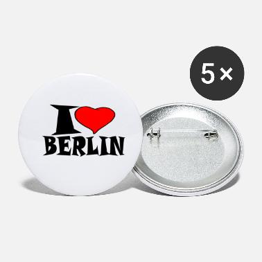 Federal Republic Of Germany Berlin - I love Berlin - Small Buttons
