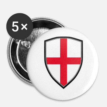 Shield ANGLE FLAG SHIELD - Badge petit 25 mm