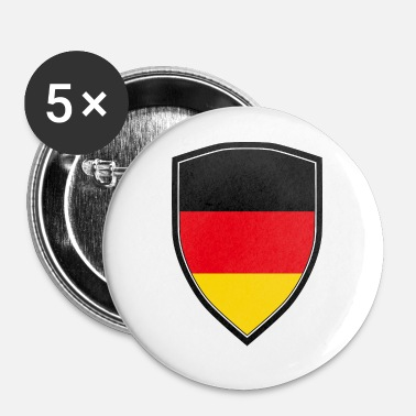 Shield FLAG SHIELD DE L'ALLEMAGNE - Badge petit 25 mm
