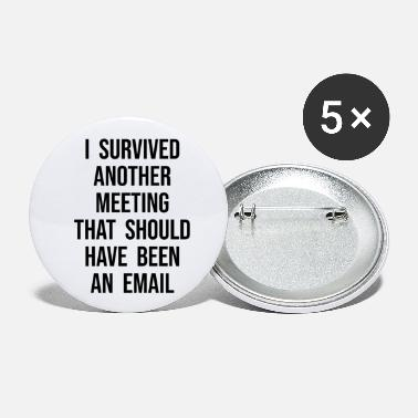 Meeting Table Meeting Email Sarcasm Graphic - Small Buttons