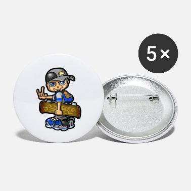 Bboy bboy and skate - Small Buttons