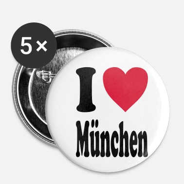 Munich J'adore Munich - Badge petit 25 mm