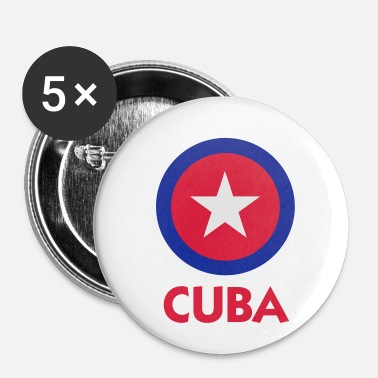 Communist Communist Cuba - Buttons small 25 mm