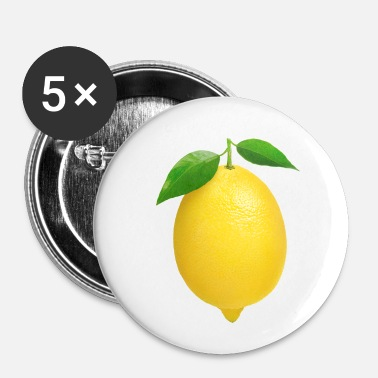 Citron citron - Badge petit 25 mm