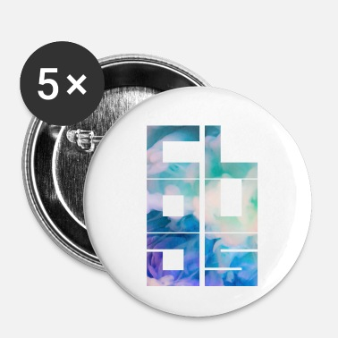 Nuage nuages - Badge petit 25 mm