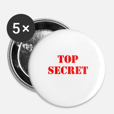 Nsa Top secret - Badge petit 25 mm