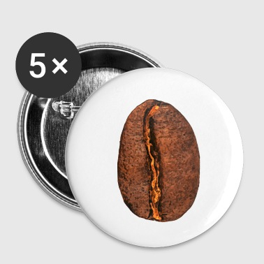 coffee bean - Buttons small 25 mm