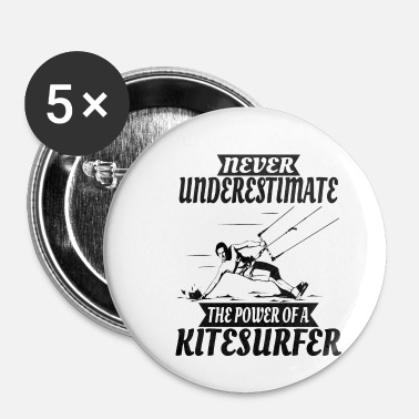 Kiteboard Kitesurfer Gift Kiteboarder Kiteboarding Kiten - Badge petit 25 mm