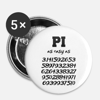 Pi pi - Buttons/Badges lille, 25 mm
