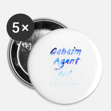 Agent Secret Agent secret en mission - Badge petit 25 mm