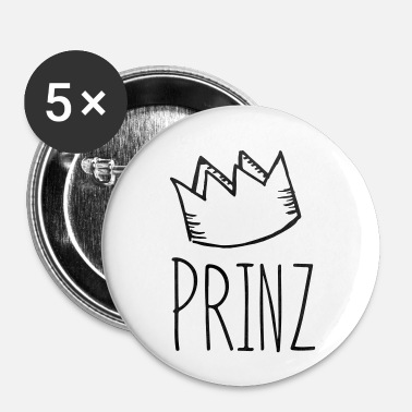 Prins prins - Buttons/Badges lille, 25 mm