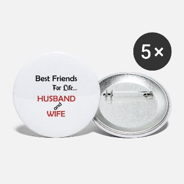 Married Couple Married couple best friends - Small Buttons