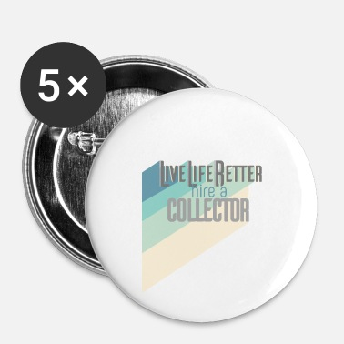 Collections Collectible - Buttons small 1''/25 mm (5-pack)