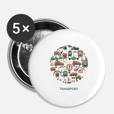 Transport transport - Badge petit 25 mm