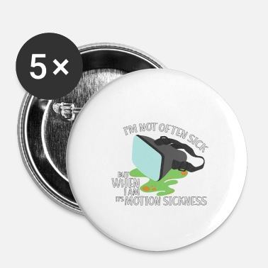 Motion MOTION SICKNESS - Buttons/Badges lille, 25 mm