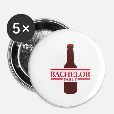Soirée Bachelor Party JGA Bachelor Party Bière Fun - Badge petit 25 mm