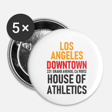San Diego Los Angeles - Downtown - House of Athletics - Cal. - Chapa pequeña 25 mm