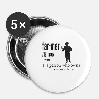 Mer Far-mer - Buttons klein 25 mm (5-pack)