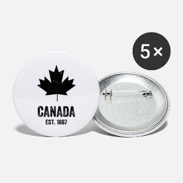 Established Canada Established 1867 - Small Buttons