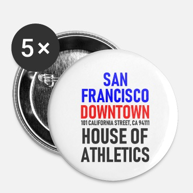 Hollywood San Francisco - Downtown - House of Athletics - Spilla piccola 25 mm