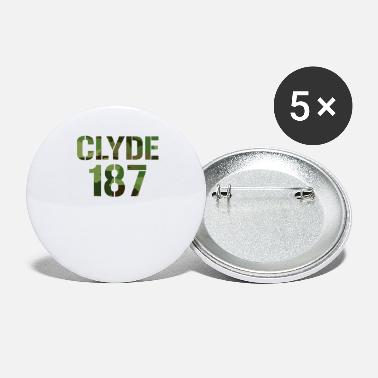 Couple Love Clyde 187 couple love gift partnership couple - Small Buttons