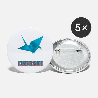Origami origami - Small Buttons